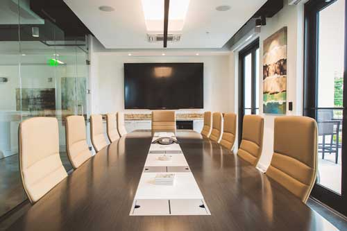 Audio and video conference rooms for effective business
